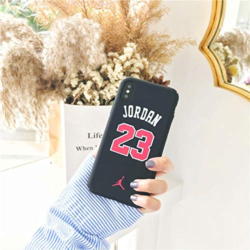 1 piece Basketball Jordan 23 Case For iphone 7 8 6 6S Plus 5 5S SE Matte Hard Plastic Phone Cases for iPhone X XR XS MAX Back Cover