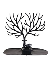 Abeillo Antler Tree Shape Jewelry Display Holder Earring Necklace Organizer Rack Ring Watch Stand Support