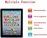 Goodfans 7.3x5.5x0.8inch Kids Pad Toy Pad Computer Tablet Education Learning Education Machine Touch Screen Ta