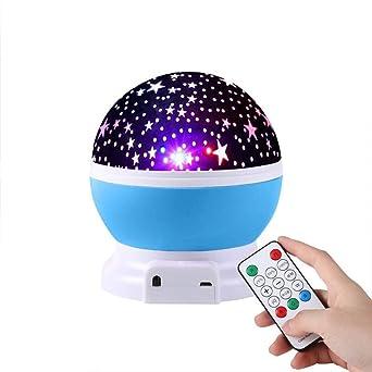 proyector bebe luz nocturna infantil,Fantasía giratoria, pequeño ...
