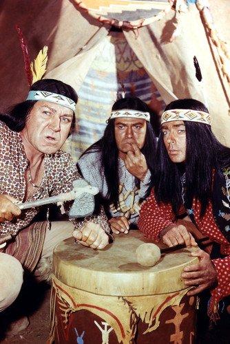 F Troop Hekawi Indians Poster