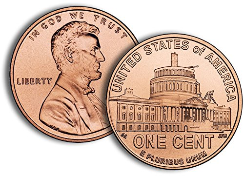 2009 P, D Lincoln Cent - 2 Bankroll Set - Presidency Design (2009 Lincoln Cent Roll)