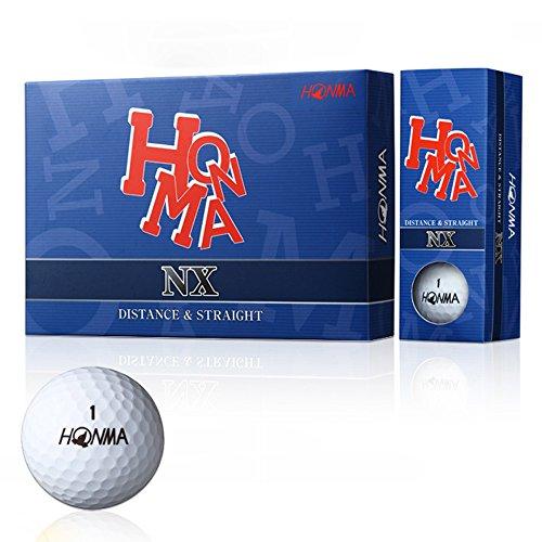 Honma NX Golf Balls 1 Dozen White
