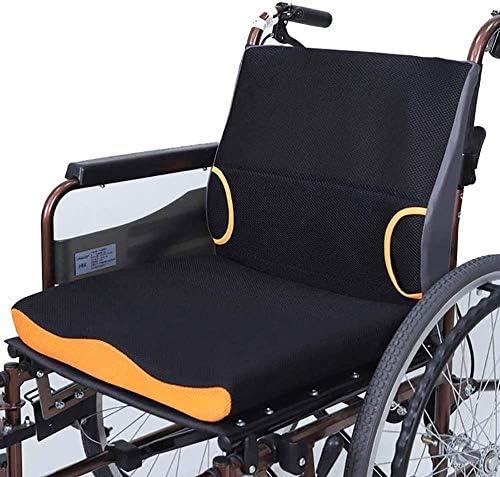 VGZ Rollstuhlkissen Orthopädische Sitzkissenauflage für Auto Bürostuhl Rollstuhl oder Home Pressure Sore Relief