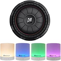 Kicker 43CVT122 COMPVT 800w 12 2-Ohm SVC Shallow Slim Car Subwoofer Sub+Speaker