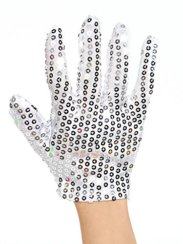 Rubies Michael Jackson King of Pop Sequined Glove]()