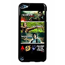 iPod 5 Phone Case,The Hunger Games Harry Potter Percy Jackson Popular Gifts Case Cover for iPod Touch 5 (Black)
