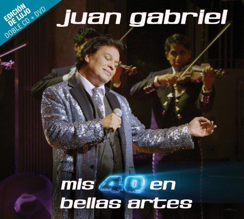 Mis 40 En Bellas Artes [2 CD/DVD Combo][Deluxe Edition] (Juan Gabriel Mis 40 En Bellas Artes)