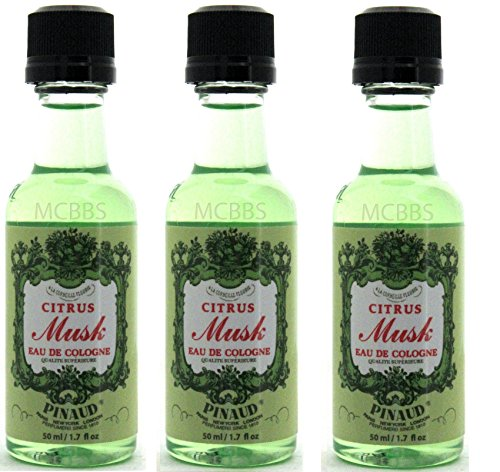 3PCS Clubman After Shave & Cologne (Travel-Sample, 1.7 oz) (CITRUS MUSK)