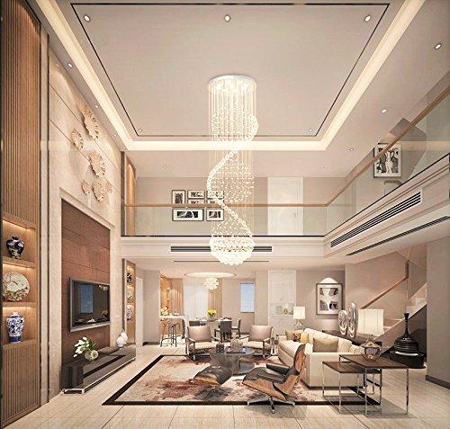 Kitchen Living Room Pass Through See Description: Dst Modern Spiral Sphere Rain Drop Spectacular Ceiling