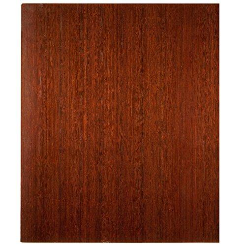Mountain Dark Anji Cherry (Bamboo Dark Cherry Deluxe Roll-Up Chairmat, 42