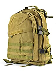 Flexzion Military Tactical Backpack Outdoor Camping Hiking Hunt Trekking Assault Rucksack Travel Molle Daypack...