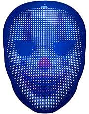 KEBEIXUAN Intelligent Luminous Mask DIY Custom Pattern LED Mask
