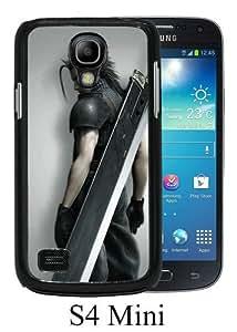 Final Fantasy Soldier Black Fashion Design Customized Picture Samsung Galaxy S4 Mini Case