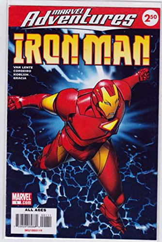 Marvel Adventures Iron Man #1 (2016) Michael Golden Cover