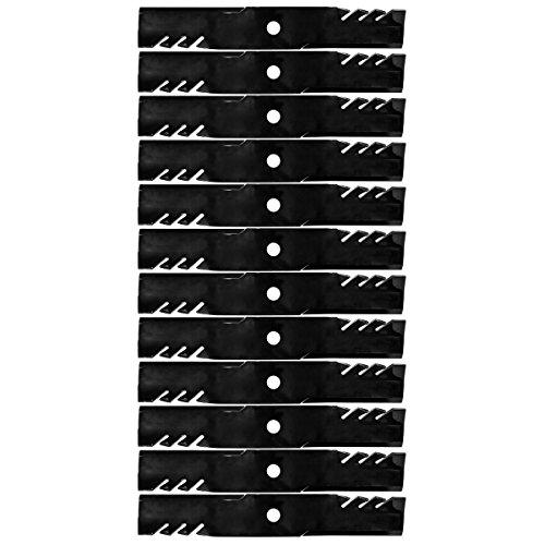 (12PK Oregon G6 Gator Blades for Kubota K5351-34342 K5351-99040 K5619-34350 K5619-97530 K5935-34360 K5935-97530 )