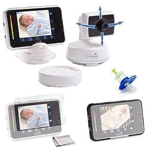 Summer Infant 02000 BabyTouch Digital Video Monitor Black Kit