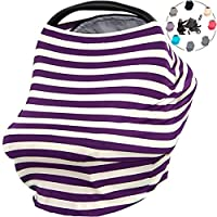 OLizee Universal Baby Stretchy Nursing Canopy Covers For Privacy Breastfeedin...