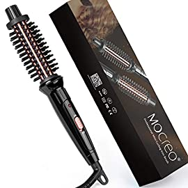- 51Wk0TBVesL - MOCREO Mini Curling Iron Brush, 3/4 Inch