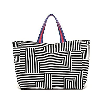 LNC Carry-All Tote Bag Lunch and Grocery Drawstring Backpack Shopping Bags DIY Handbag