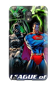 Galaxy Case Cover With Justice League Nice Appearance Compatible With Galaxy Note 3