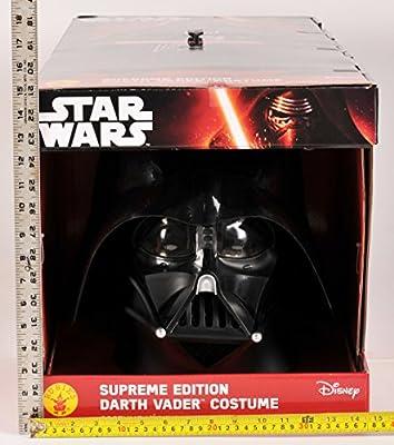 Rubie's Costume Men's Star Wars Collector Supreme Edition Darth Vader Costume