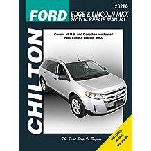Ford Edge & Lincoln MKX, 2007-2014 (Chilton Automotive)