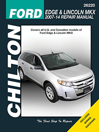 2007 Ford Edge Owners Manual (Ford Edge & Lincoln MKX, 2007-2014 (Chilton Automotive))