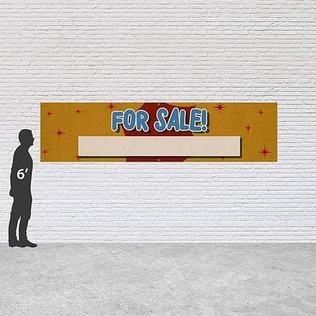 8x4 Chalk Burst Heavy-Duty Outdoor Vinyl Banner Blowout Sale CGSignLab