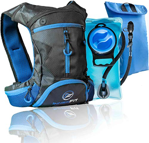 Insulated Hydration Backpack with Water Bladder, Durable Camel Backpack Hydration Pack for Running, Cycling, Biking and Outdoor Activities - Lightweight Water Backpack ()