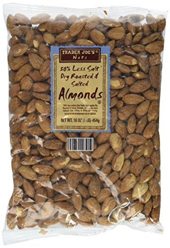organic almonds roasted salted - 2