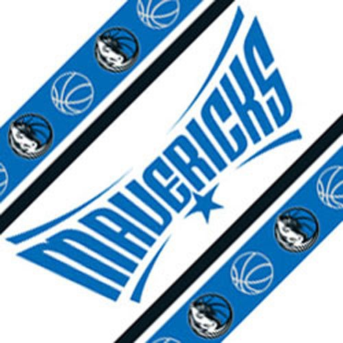 Five NBA Dallas Mavericks Self Stick Wall Border by NBA
