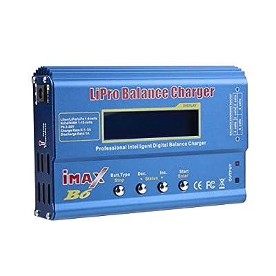 Kobwa(TM) IMax B6 LCD Digital 2S-6S RC Lipo NiMh Li-i?o?n LiFe Nicd Battery Balance Charger with Kobwa's Keyring