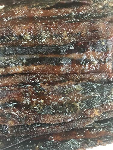 - Bourbon/Honey Smoked Bacon Jerky 3 ounce portions 17 Delicious Flavors Made to order