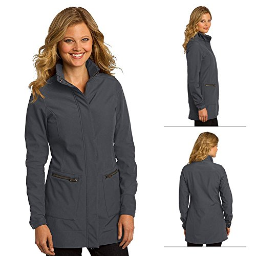 Ogio Ladies Intake Trench Coat - Small (diesel Grey) from OGIO