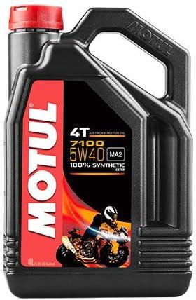 Motul Motoröl 7100 4 Takt Motorrad Moped Motor Oil 5w40 104086 4l Auto