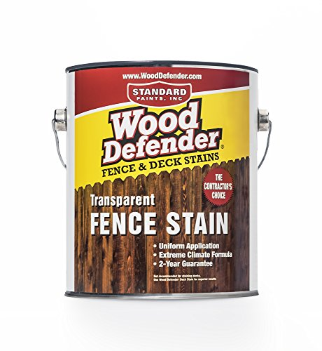Wood Defender - Transparent Fence Stain- Oxford Brown- 1 Gallon ()