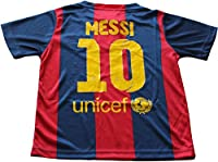 2014/2015 FC BARCELONA HOME LIONEL MESSI 10 FOOTBALL SOCCER KIDS JERSEY (6-7 YEARS)