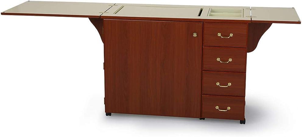 Mueble para máquina de coser- Norma Jean Cereza: Amazon.es: Hogar