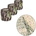 Tissu Camouflage Tape Wrap Camouflage Adhésif pour Pistolets Décor de Bande de Protection Tactique Bande de Camouflage… 10