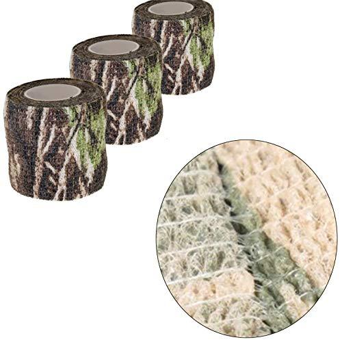 Tissu Camouflage Tape Wrap Camouflage Adhésif pour Pistolets Décor de Bande de Protection Tactique Bande de Camouflage… 5