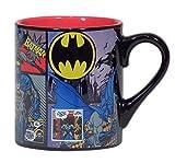 batman kitchen ware - Silver Buffalo BN7732 DC Comics Batman Comic Panel Ceramic Mug, 14-Ounces