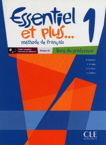 Essentiel et Plus: Guide Pedagogique 1 & CD-Audio (French Edition) PDF