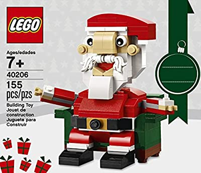 LEGO Holiday Santa 40206 Building Kit (155 Piece) from LEGO
