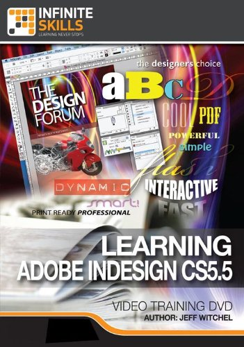 Learning Adobe InDesign CS5.5 Training Video [Download]