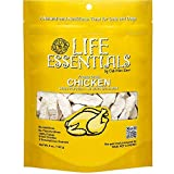 LIFE ESSENTIALS By Cat-Man-Doo All Natural Freeze Dried Chicken For Dogs & Cats - No Fillers, Preservatives, or Additives -- Grain Free Tasty Treat -- 5 Oz Bag -- Made in USA Larger Image