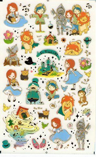 [DECO FAIRY] The Wizard of Oz Style Stickers