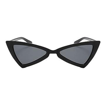 303c26390a1bb Women s sunglasses,Freesa Small Lady Triangle Cat Eye Sunglasses Sunglasses  Women Vintage Cateye Frame Shades