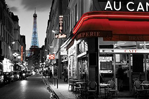 rue parisienne paris photo print