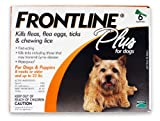 Merial Frontline Plus Flea and Tick Control for Dogs and Puppies 8 weeks or older and up to 22lbs, 6-Doses offers